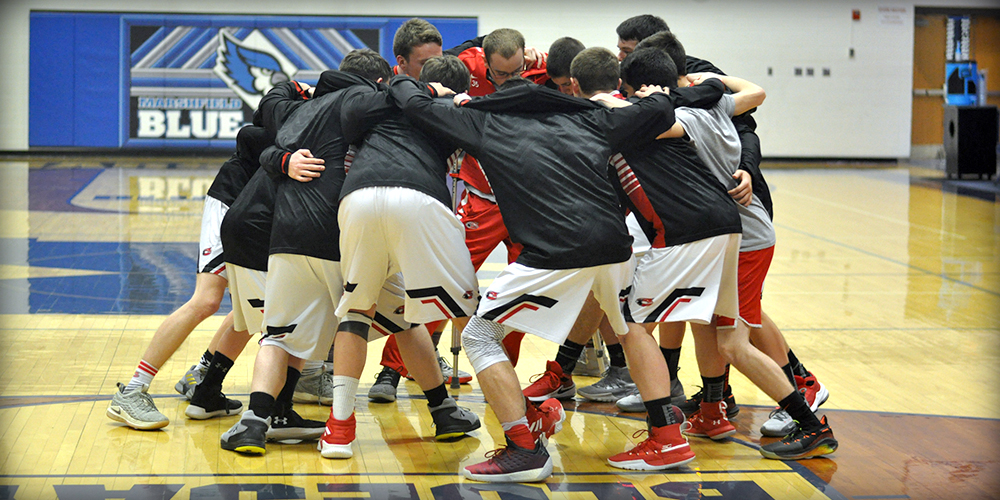 Boys Play for District Title
