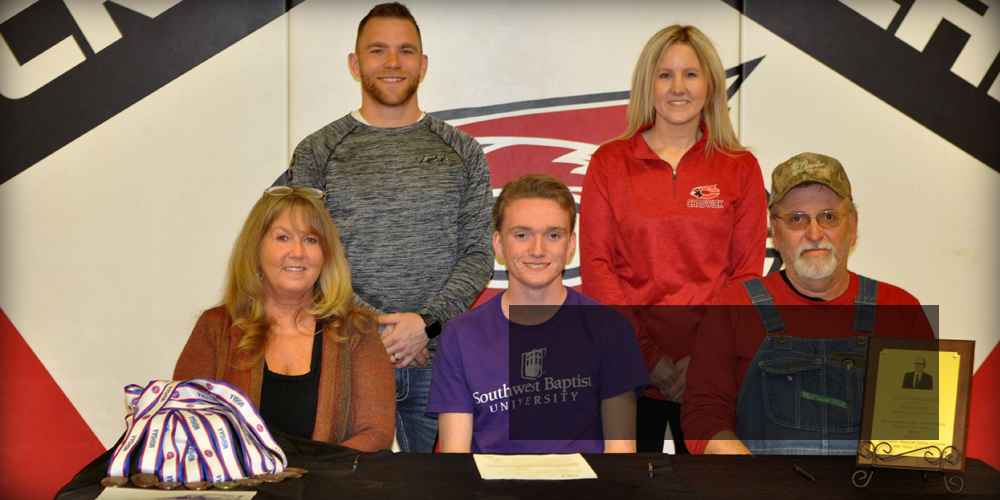 Evan Signs with SBU