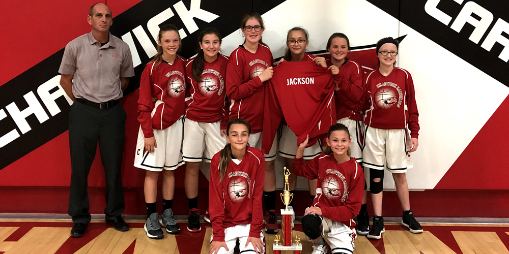Junior High Basketball Is on a Roll